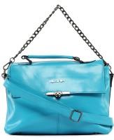 Kiara Women Formal Blue Leatherette Sling Bag