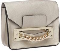 Fur Jaden Women Gold PU Sling Bag
