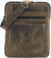 Leaderachi Boys, Girls, Men, Women Casual, Formal, Sports Brown Genuine Leather Sling Bag - SLBE6D2YRG78BYZD