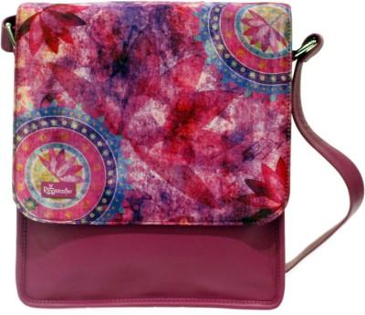 The Ringmaster The Ringmaster Lotus Medium Sling Bag (Multicolor)