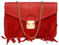 Toniq Girls, Women Evening/Party, Casual, Festive Red PU Sling Bag