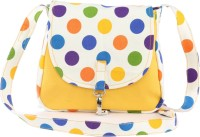Vogue Tree POLKAOCHRE Medium Sling Bag (Yellow)