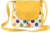 Vogue Tree OCHREPOLKA Medium Sling Bag (Yellow)