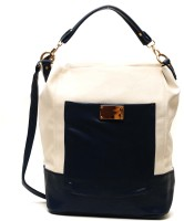 Dazz Women Casual White, Blue PU Sling Bag