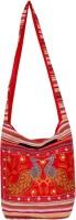 Womaniya Women, Girls Casual Red Canvas Sling Bag