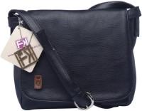 Fashion Knockout Women Casual Black PU Sling Bag