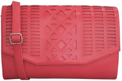 Toteteca Bag Works Women Pink Leatherette Sling Bag
