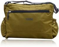 Yark Women, Men Casual Green Polyester Sling Bag