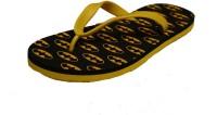 Bonflack Bat02-Yellow Flip Flops