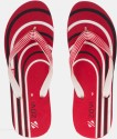 Zovi Red Candy Stripes Flip Flops - SFFDX2G2SNHGPSER