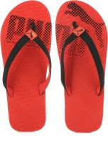Puma Miami 6 DP High Risk Red-black Flip Flops
