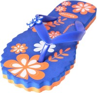 Style Foot Blue Slippers