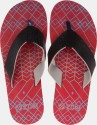 Zovi Red and Blue with Black Strap Flip Flops - SFFDX2G2FCVBFSW9