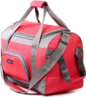 Bleu Wheeler Small Travel Bag  - Standard - TB-507 Red & Grey