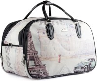 Wrig WDB053-A White Small Travel Bag  - Large White