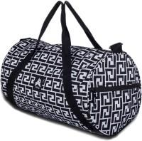 PinStar Greek Key Endura Gym Small Travel Bag  - Medium Black-08