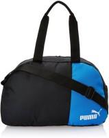 Puma Black And Team Power Blue Polyester Messenger Bag Small Travel Bag  - Small Blue, Black