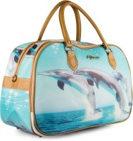 Wrig WDB076-D Blue Small Travel Bag  - Large Blue