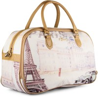 Wrig WDB070-D White Small Travel Bag  - Large White