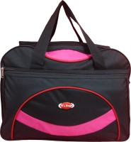 NL Bags Redline Small Travel Bag  - Medium Black, Pink