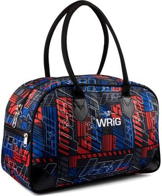 WRIG WDB_M_04 Small Travel Bag Blue, Red