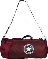 Ideal Neo Maroon Small Travel Bag Maroon And Black