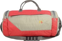 Pearl Bags Pearl Bags Lightweight Unisex Red Small Travel Bag Small Travel Bag  - Small Red & Grey