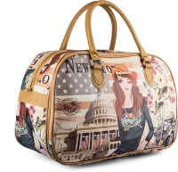 Wrig WDB075-C Pink Small Travel Bag  - Large Pink