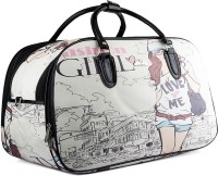 Wrig WDB057-A Black Small Travel Bag  - Large Black