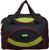 Nl Bags Redline Small Travel Bag  - Medium Black And Parrot Green