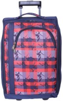 Bagsrus Cabin Laptop Trolley-Featherlite Small Travel Bag Blue
