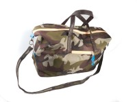 Harp Dallas Army Weekender Expandable Small Travel Bag  - Large - Green