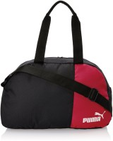 Puma Black And Team Power Red Polyester Messenger Bag Small Travel Bag  - Small Red, Black