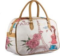 Wrig WDB074-D Pink Small Travel Bag  - Large Pink