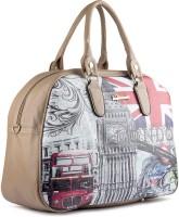 Wrig WDB054-B Brown Small Travel Bag  - Large Brown