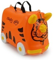 Toys Bhoomi Kids Ride On & Roll Cabin Luggage - 18 Orange