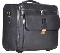 Hawai Matte Luggage Expandable Small Travel Bag - Medium (Black-01)