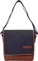 Aekyam Cross Body Small Travel Bag Blue, Brown