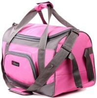 Bleu Wheeler Small Travel Bag  - Standard - TB-506 Pink & Grey