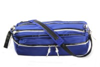 Harp Dallas Travel Expandable Small Travel Bag  - Large Blue