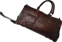 Bag Jack Canum 22 Inch Duffel Strolley Bag Coffe Brown