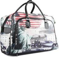 Wrig PF-WDB034-E White Red Small Travel Bag  - Large White