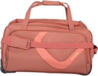 Safari Trac Duffle With Wheels 21.6 Inch Small Travel Bag  - Small Orange