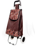 Ramp India Canvas Shopping Trolley Brown Small Travel Bag  - Large Brown