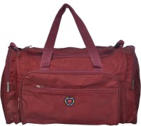 NSN Travel Duffle Bag Small Travel Bag  - Small Brownish Red