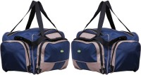 NL Bags Trvlboxer Small Travel Bag  - Big Navy Blue, Grey