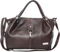 C Comfort Genuine Leather Small Travel Bag  - Medium Brown