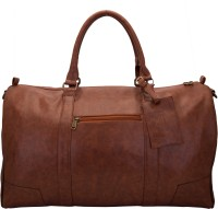 Aekyam Classic Duffle Small Travel Bag Dark Brown