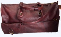 PE RBS12 Expandable Small Travel Bag  - Medium - Brown-01