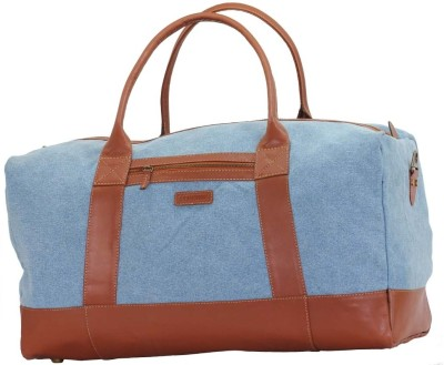 Lupine Kurinji Small Travel Bag - Blue, Tan